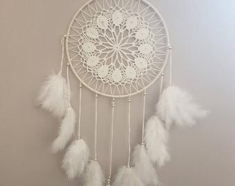 Get chic hippie dream white and ecru
