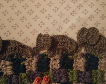 Elephant blanket.