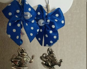 Mad Hatters tea party earrings