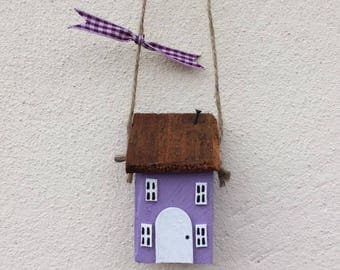 Collectable Hand Crafted Unique Pretty Wooden Cottages 'Pip Cottage'