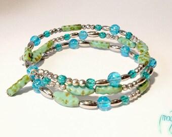 Bracelet - blue shells