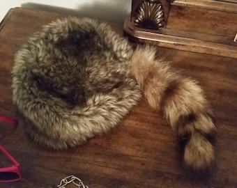 Coon fox hat
