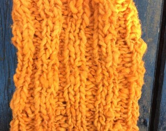 Handmade knitt cowls