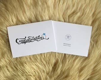 Congratulations Ring Card