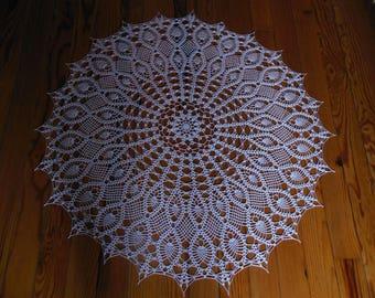 """Ain"" round crochet doily"