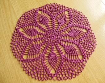"""Doily crochet round """"Gooseberry"""""""