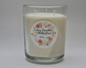 Vanilla Bean - Large Soy Candle