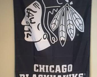 Chicago Blackhawks Wall Banner