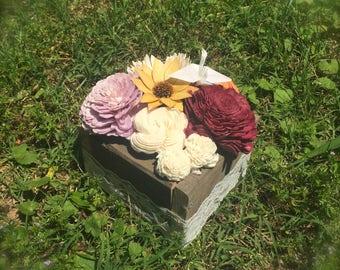 Small Sola Wood Flower Centerpiece