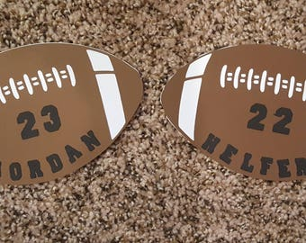 Personalized Football cut outs