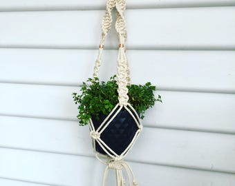 Natural Cotton Rope Macrame Pot Hangers