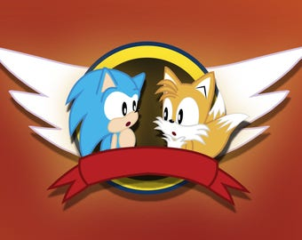 Sonic and Tails Emblem