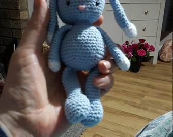 Hand Crochet baby cotton bunny