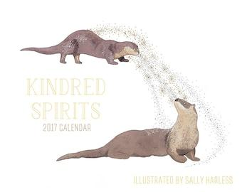 SALE! 2017 calendar - Kindred Spirits