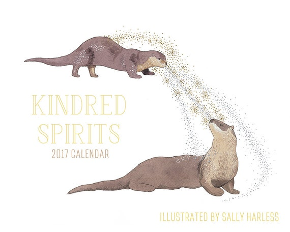 SALE! 2017 calendar - Kindred Spirits