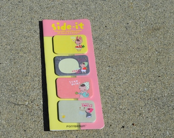 Pony Brown Side-It Mini Sticky Note Tabs - Memo Notes for Your Planner