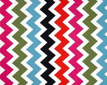 Windham Fabrics French Bull Ziggy Chevron Medium Multi Quilting Apparel Fabric By The Yard