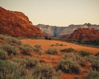Snow Canyon Photography, Utah Landscape Photo, Red Rock Terrain, Southwestern Utah, Nature, Dunes, Rocky Landscape