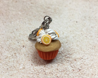 Miniature Cupcake Charm from My Bead Garden