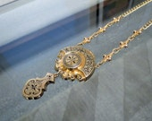 Victorian Taille d'Epargne Necklace by PS Co.