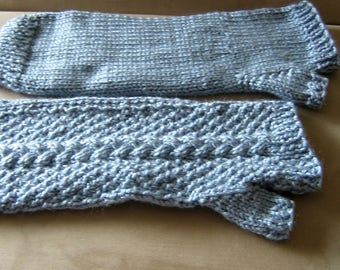 Blue Armwarmers