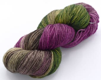 Garden of Live Flowers Variegated Hand Dyed, a Wonderland Pop Culture Yarn- Dyed to Order