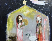 Nativity online class - by Mindy Lacefield