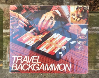 Travel Backgammon Game 1973 by Hoi Polloi Inc. Unopened Vintage Games