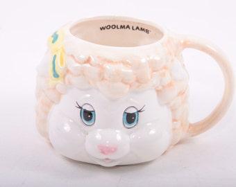 Get Along Gang, Woolma Lamb, Vintage Mug, Coffee Mug, American Greetings, TCFC ~ The Pink Room ~ 161012