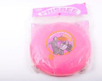 Vintage Frisbee, Original, Pink, Toy, American, MIP, Unopened, 1972 ~ The Pink Room ~ 170220