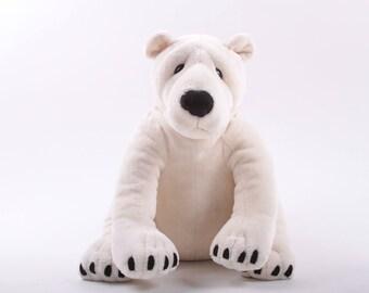 Quarry Critters, Polar Bear, Plush, Stuffed Animal, White, Teddy Bear, Smoke Free, Pet Free ~ The Pink Room ~ 161029
