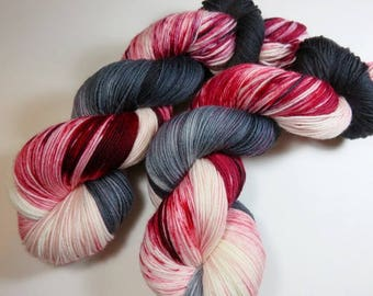 Hand Painted Superwash Merino and Nylon 4-Ply Sock Yarn -- Someone On The Internet is WRONG