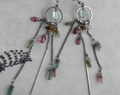 Reserved for S - Candy Color Earrings – Tourmaline Apatite