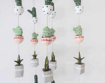 Potted Cacti Mini Mobile   No Water Necessaire