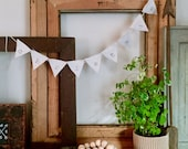 CHRISTMAS Small Hand stamped Bunting Banner