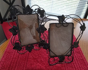 Wire Ivy Picture Frames