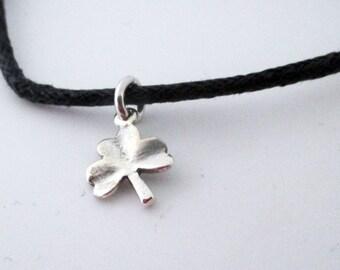 Adjustable Shamrock Bracelet