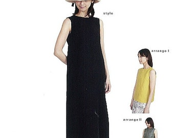 M163 Adult A Lined Long Dress M Pattern - Japanese M Pattern