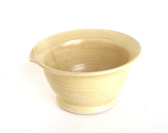 Small Mixing Bowl - Golden Desert Glaze