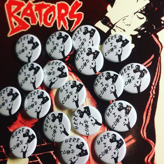 "Stiv Bators 1.25"" Pinback Button"