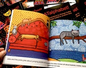CAT Alphabet Children's Book  CATalphabet!  Picture Book Homeschooling SHIPPING INCLUDED
