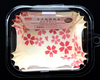 Cherry Blossom Paper Food Cups - Food Cups - Sakura Food Liners - Japanese  Food Liner - NOT FOR OVEN