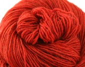 Olana fingering weight cormo alpaca angora blend yarn 300yds/274m 2oz/57g Paprika