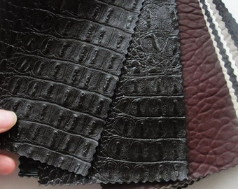 31 pieces of Fake Leather Catalog Textured, Embossed
