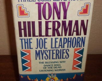 The Joe Leaphorn Mysteries-3 Complete Novels in One Book-Tony Hillerman-Hardcover Book w/DJ-1992