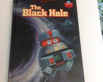 Vintage Disney The black Hole Hard Cover Book