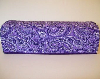 Cricut Dust Cover / Scan-n-Cut Cover / Cricut Machine Cutter Protector / Quilted / Lavender-Purple Paisley