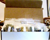 12 month- Monthly Herb Witch Box- Subscription -witchcraft kits, witchcraft herbs, wiccan herbs, herbs for witchcraft, herbs, berries, roots