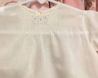 1930s Baby Gown 0/3 Months