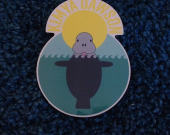 5 pack of Kimya Dawson stickers (designed by Aesop Rock)